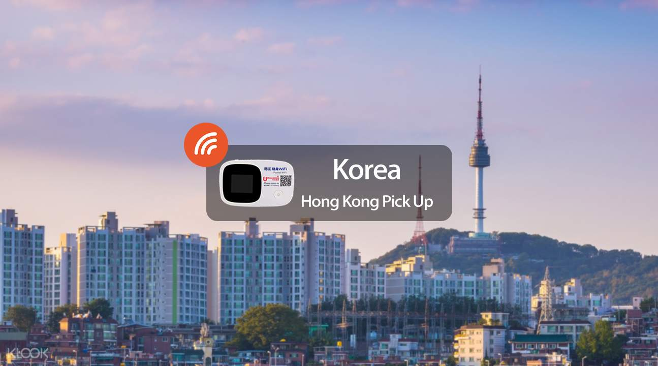4G WiFi (Hong Kong Pick Up) for South Korea